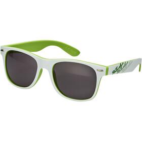XLC Madagaskar SG-F06 Brille weiß-grün/rauch